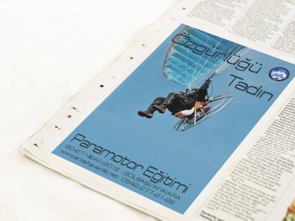 Motorlu Yamaç Paraşütü (Paramotor) Eğitimi
