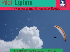 Yamaç Paraşütü Pilot Eğitimi Kursu (P4) – Ankara